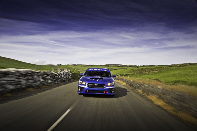 Subaru Smashes Isle of Man TT Lap Record High Resolution Exterior - image 554753