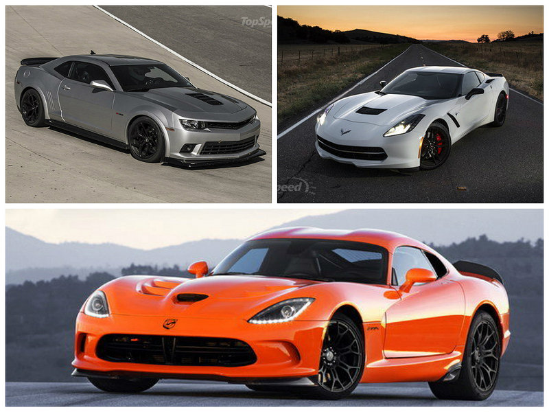 Three-Way Shootout: Viper, Vette, and Z/28