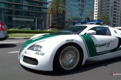 Video: Meet the World's Fastest Police Cars