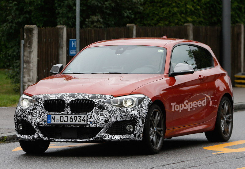 Spy Shots: 2015 BMW M135i Caught Testing