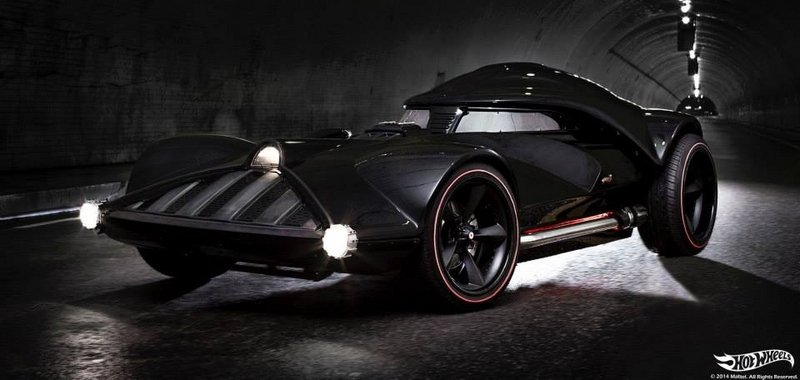 2014 Darth Vader Car by Hot Wheels