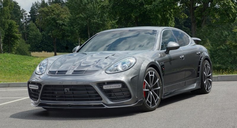 2014 Porsche Panamera Turbo by Mansory
