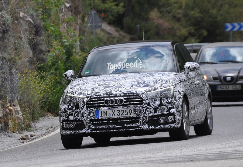 Spy Shots: Revised Audi A1 Caught Testing in Southern Europe
