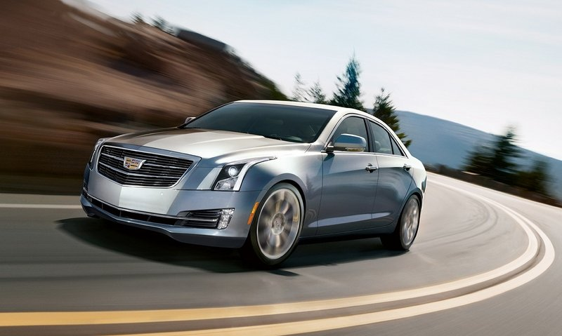 2015 Cadillac ATS Sedan High Resolution Exterior - image 559232