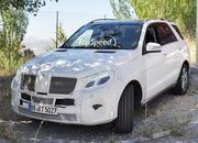 Spy Shots: Mercedes M-Class Caught Testing in Europe - image 561603