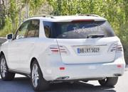 Spy Shots: Mercedes M-Class Caught Testing in Europe - image 561607
