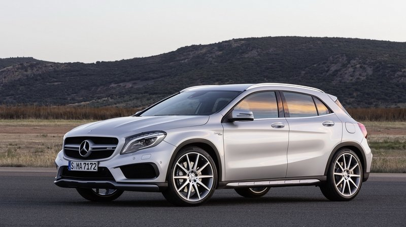 2015 Mercedes GLA45 AMG High Resolution Exterior - image 562355