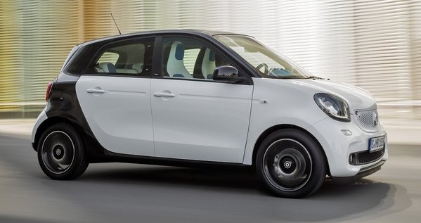 2015 Smart Forfour Review Top Speed