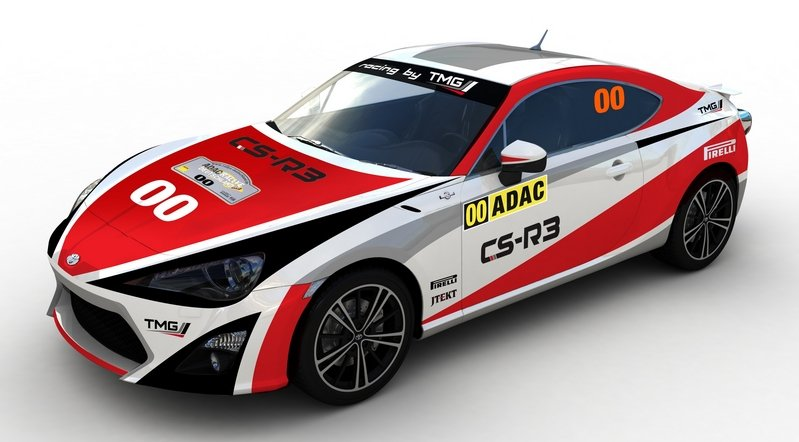 2015 Toyota GT86 CS-R3 Rally Car