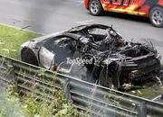 Spy Shots: Honda NSX Burns to the Ground on the Nurburgring - image 561933