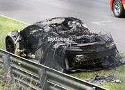 Spy Shots: Honda NSX Burns to the Ground on the Nurburgring - image 561936