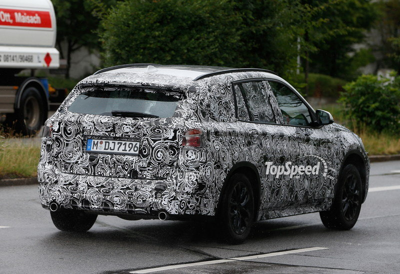 Spy Shots: 2016 BMW X1 Caught Testing