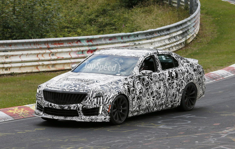 Spy Shots: Cadillac CTS-V Smokes its Tires on the Nurburgring Exterior Spyshots - image 560112