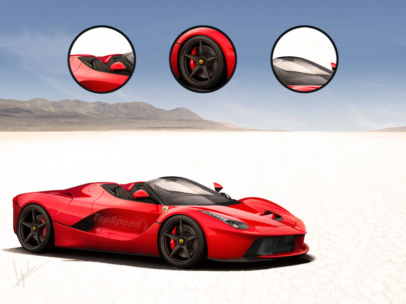 Rumormill: Ferrari LaFerrari Spider and FXX Confirmed for 2015 Exclusive Renderings - image 559405
