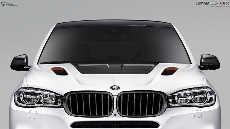2014 BMW X6 CLR X 6 R By Lumma Design