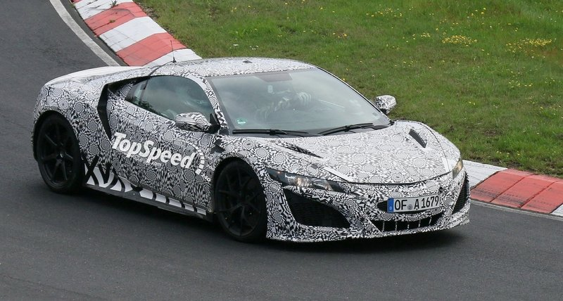 Spy Shots: Honda NSX Caught in Production Guise