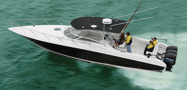 2014 fountain 38 sportfish luxury edition boat review for Luxury fishing boats