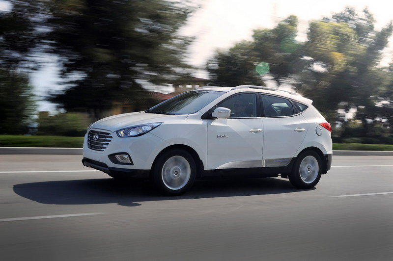 2015 Hyundai Tucson Fuel Cell High Resolution Exterior - image 559523