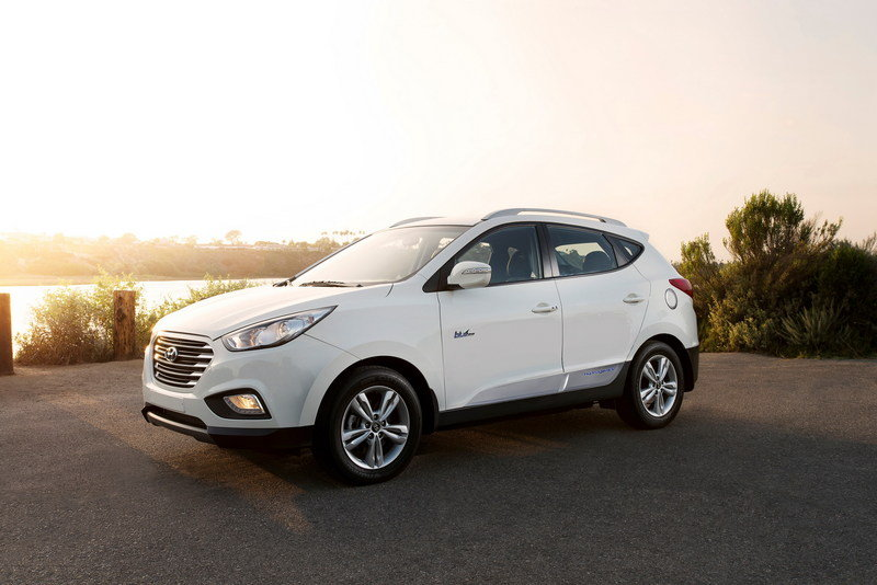 2015 Hyundai Tucson Fuel Cell High Resolution Exterior - image 559521