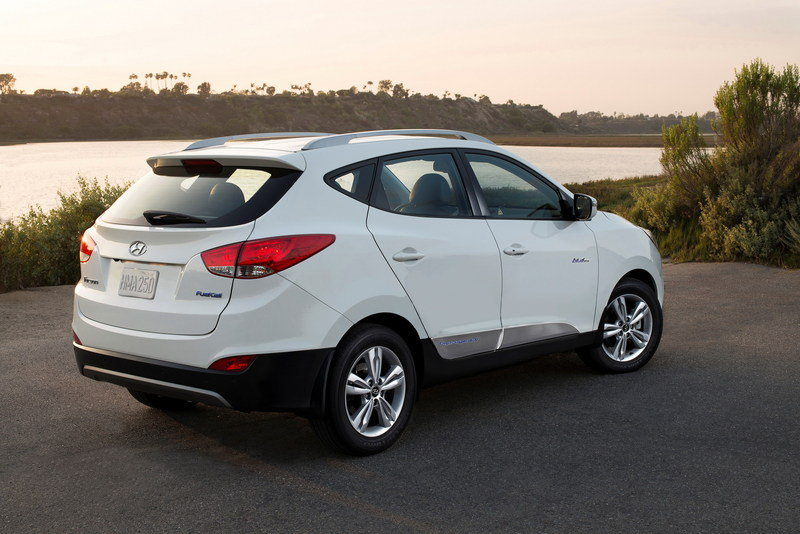 2015 Hyundai Tucson Fuel Cell High Resolution Exterior - image 559522