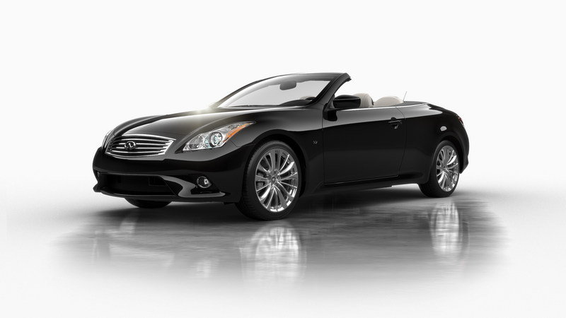 2014 Infiniti Q60 Convertible High Resolution Exterior - image 560307