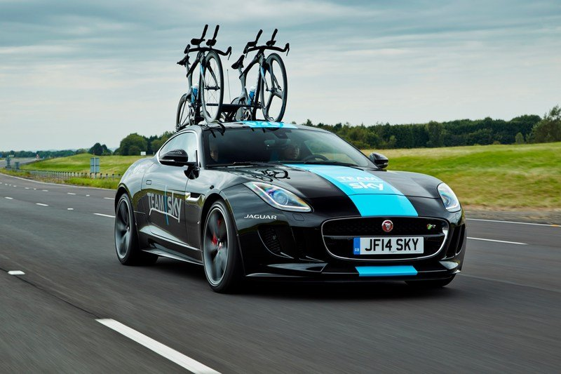 2015 Jaguar F-Type Coupe Tour de France Special Edition