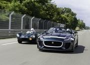 Jaguar F-Type Project 7 Made Its Dynamic Debut; D-Type Won 2014 Le Mans Classic - image 558879