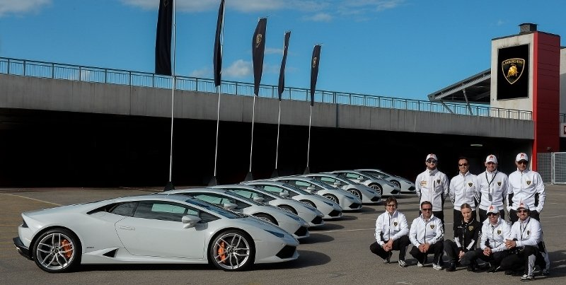 Lamborghini Announces its First-Ever North American Performance Driving School