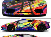 2014 Lamborghini Aventador Roadster Art Car by Duaiv - image 561986