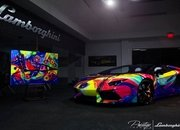 2014 Lamborghini Aventador Roadster Art Car by Duaiv - image 562104
