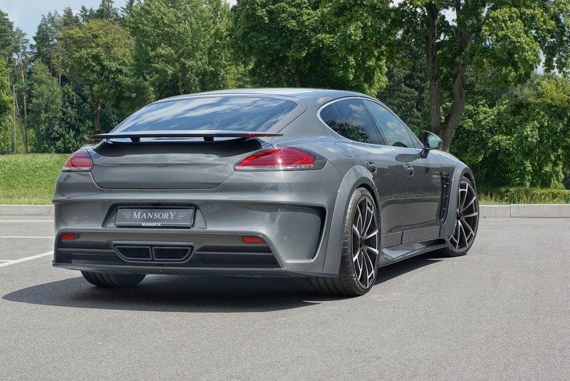 2014 Porsche Panamera Turbo by Mansory High Resolution Exterior - image 562252