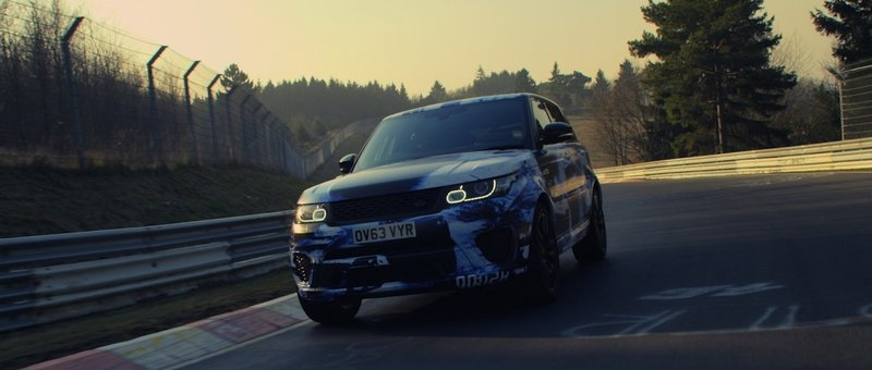 Range Rover Sport SVR Becomes Fastest Production SUV on the Nürburgring