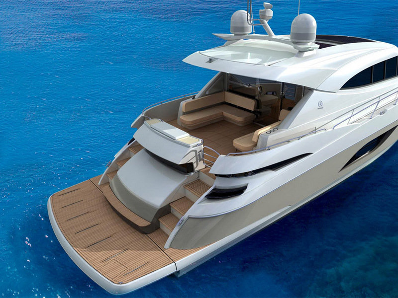 2014 Riviera 6000 Sport Yacht Exterior - image 560050