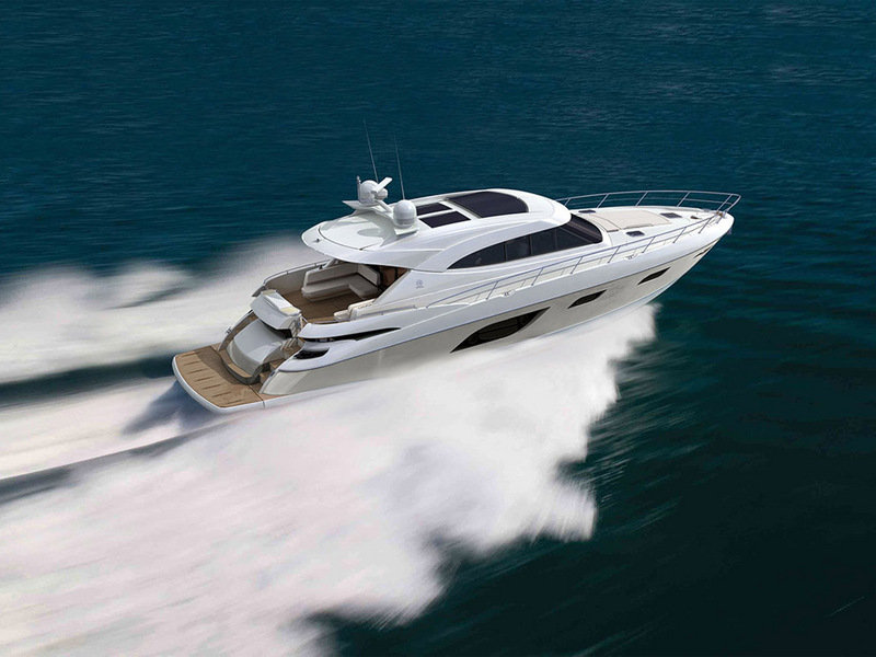 2014 Riviera 6000 Sport Yacht High Resolution Exterior - image 560052