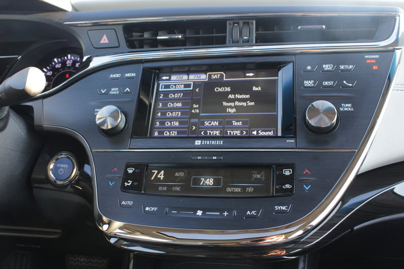 2014 Toyota Avalon Hybrid - Driven Interior - image 561062