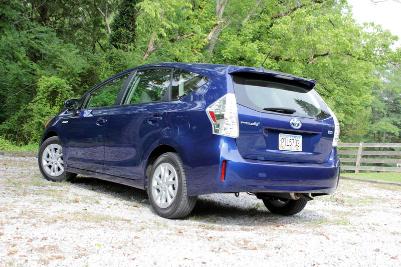 2014 Toyota Prius V - Driven High Resolution Exterior - image 559160