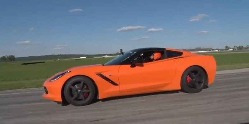 Video: Chevrolet Corvette Stingray tested Against Exotics