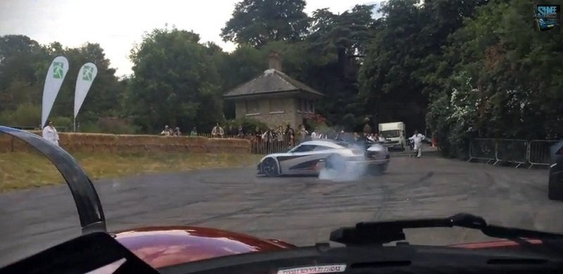 Video: Koenigsegg One:1 Doing Donuts At The Nurburgring