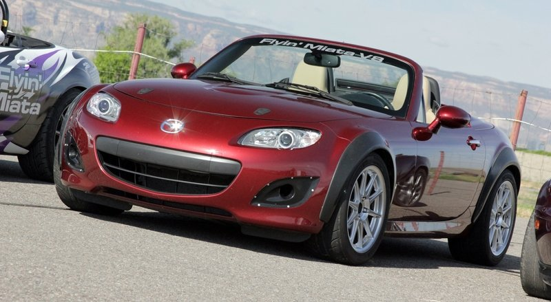 "2009 Mazda MX-5 Miata ""Atomic Betty"" by Flyin' Miata - Driven"