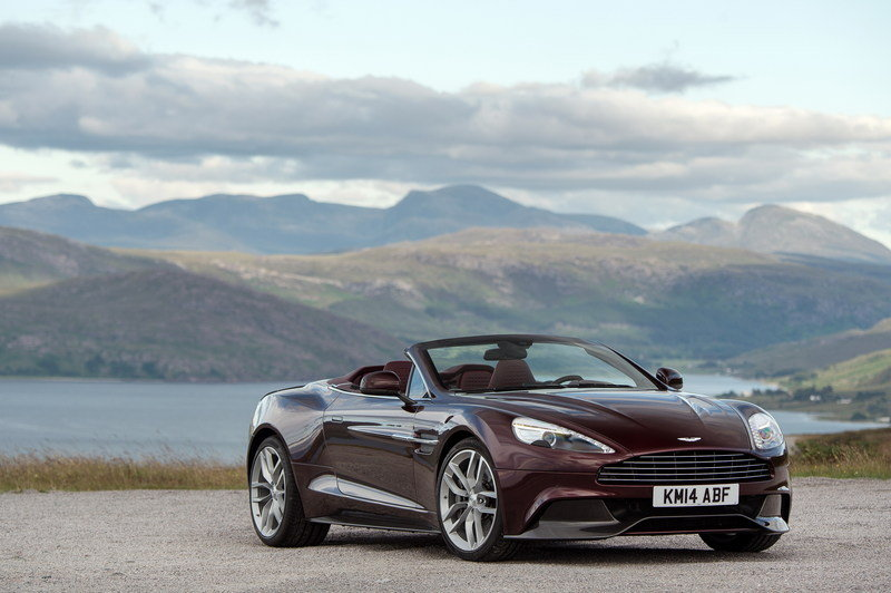 2014 - 2015 Aston Martin Vanquish Volante High Resolution Exterior - image 563454