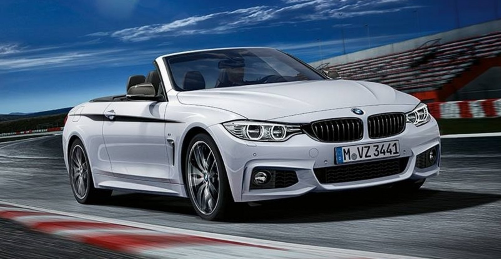 2014 bmw 4 series convertible with m performance parts. Black Bedroom Furniture Sets. Home Design Ideas