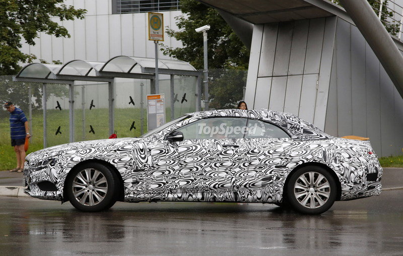 Spy Shots: Mercedes S-Class Convertible Caught Testing Once Again Exterior Spyshots - image 564595