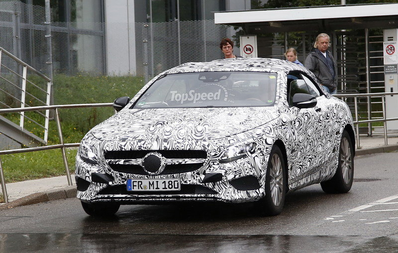 Spy Shots: Mercedes S-Class Convertible Caught Testing Once Again Exterior Spyshots - image 564592