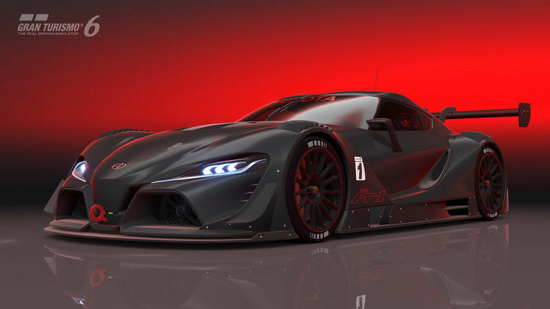 2014 Toyota FT-1 Vision GT Concept Screenshots / Gameplay - image 564644