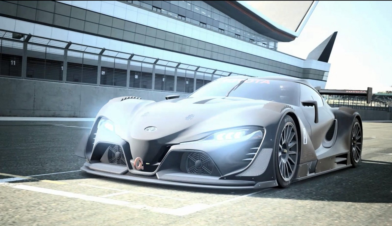Toyota Ft 1 >> 2014 Toyota FT-1 Vision GT Concept Review - Top Speed