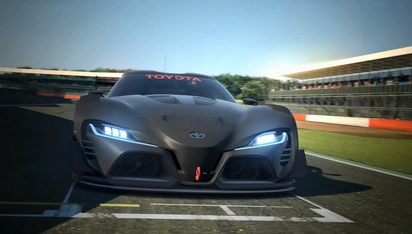 Toyota ft 1 Vision gt Concept
