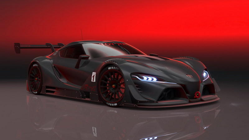 2014 Toyota FT-1 Vision GT Concept