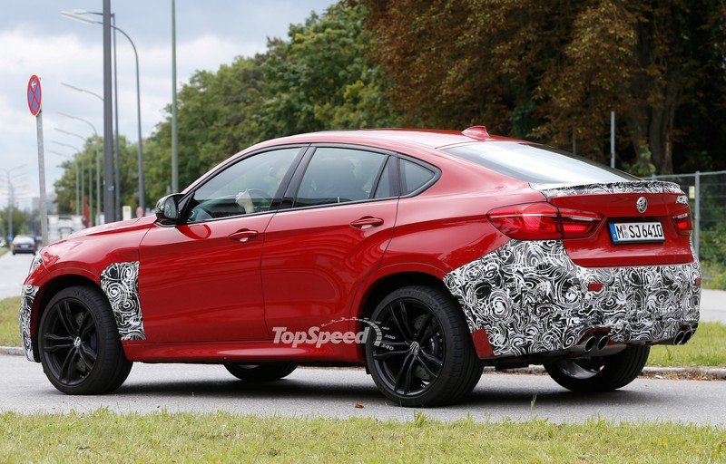 Spy Shots: BMW X6 M Slowly Losing Its Camouflage Exterior Spyshots - image 566304