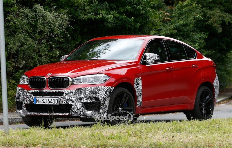 Spy Shots: BMW X6 M Slowly Losing Its Camouflage Exterior Spyshots - image 566306