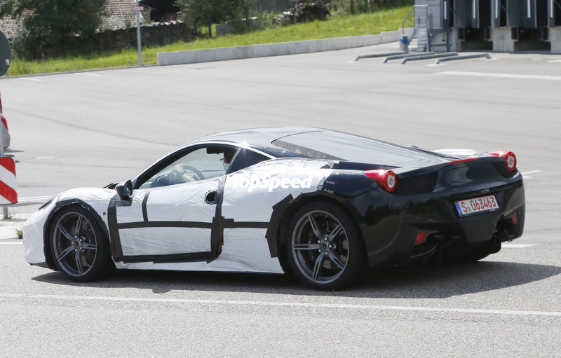 Spy Shots: Ferrari M458-T Goes Out for a New Round of Testing